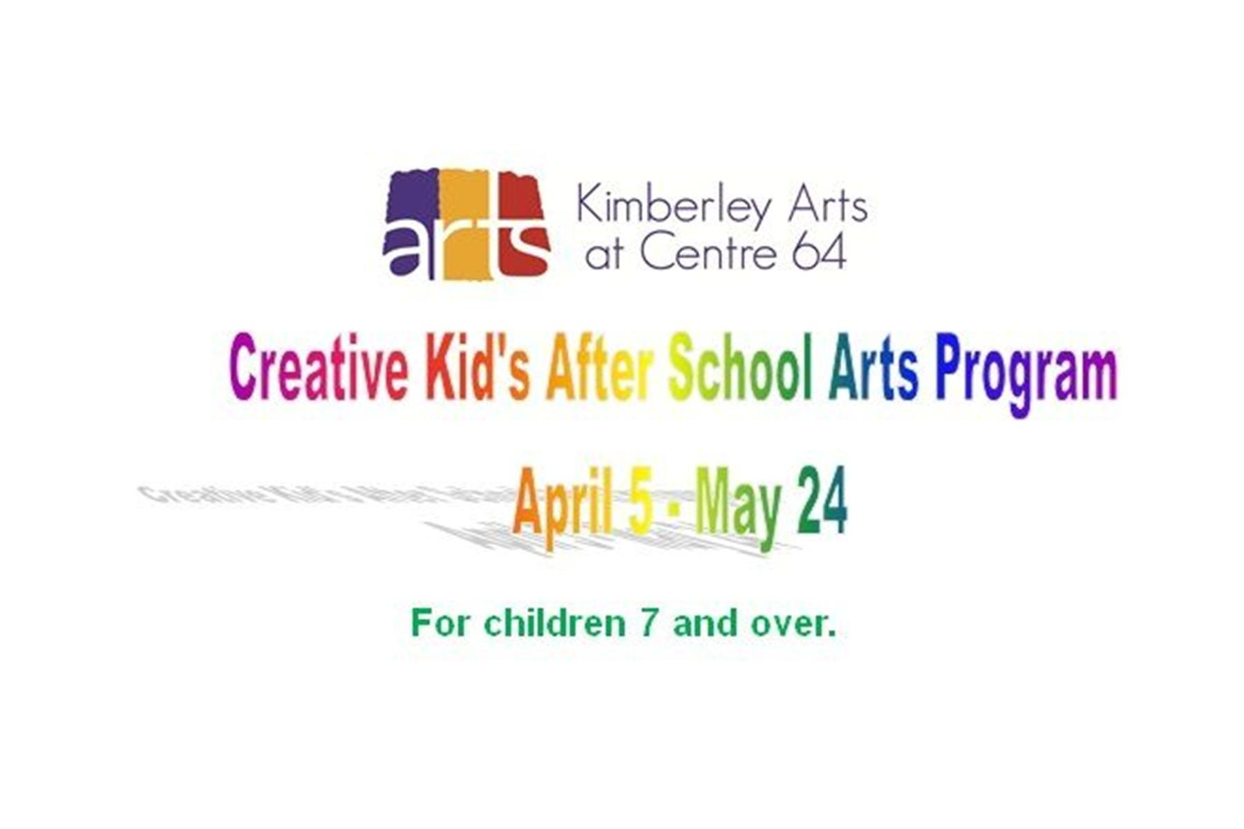 Creative Kid's After School Arts Program