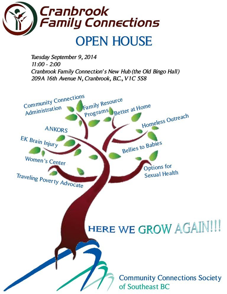 Cranbrook Family Connections Open House