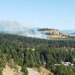 Fire reported east of Marysville